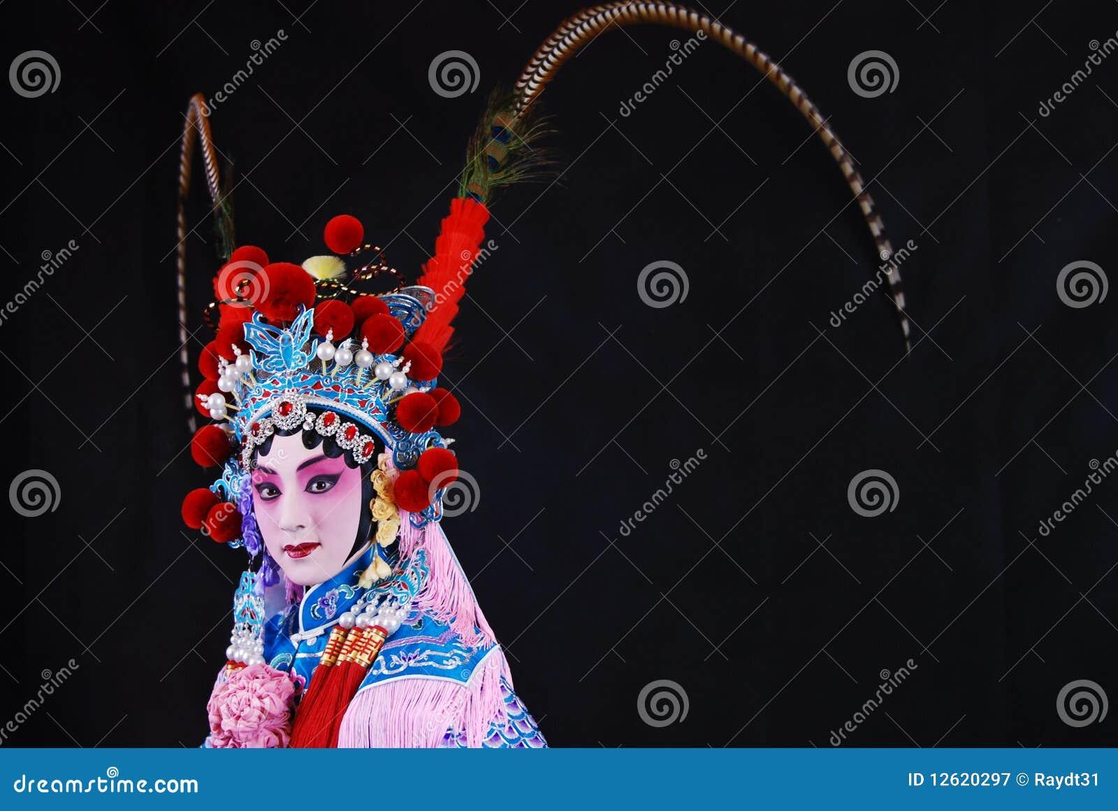 Fascini artistici dell opera di Pechino