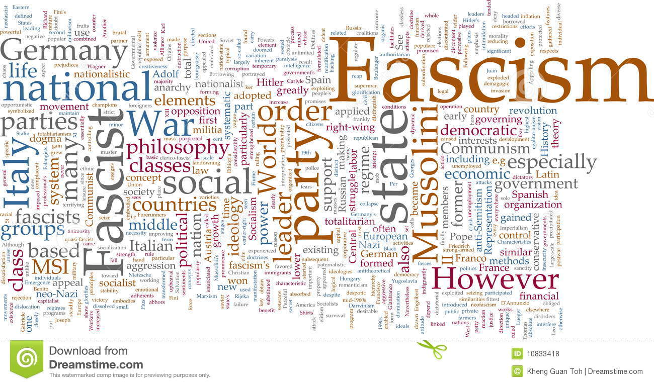 the concept and ideology of fascism Fascism and ideology is the subject of numerous debates the position of fascism on the political spectrum is a point of contention.