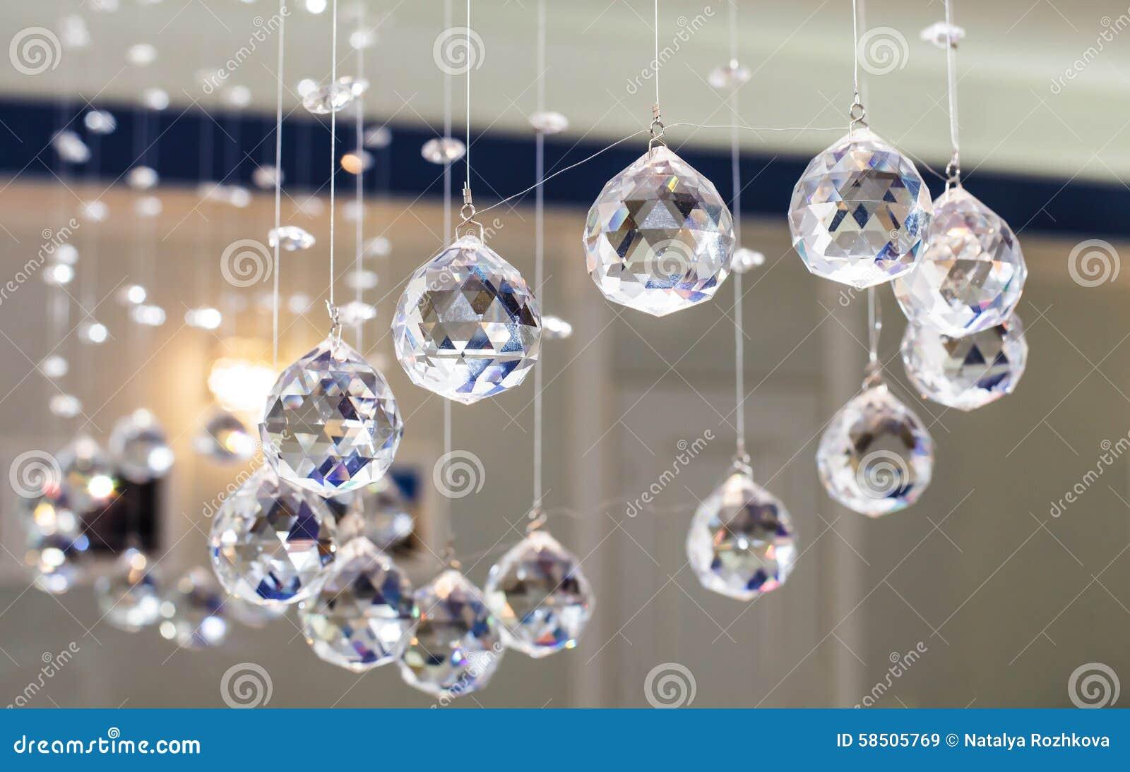 Fasetterat exponeringsglas för bollar dekorativt
