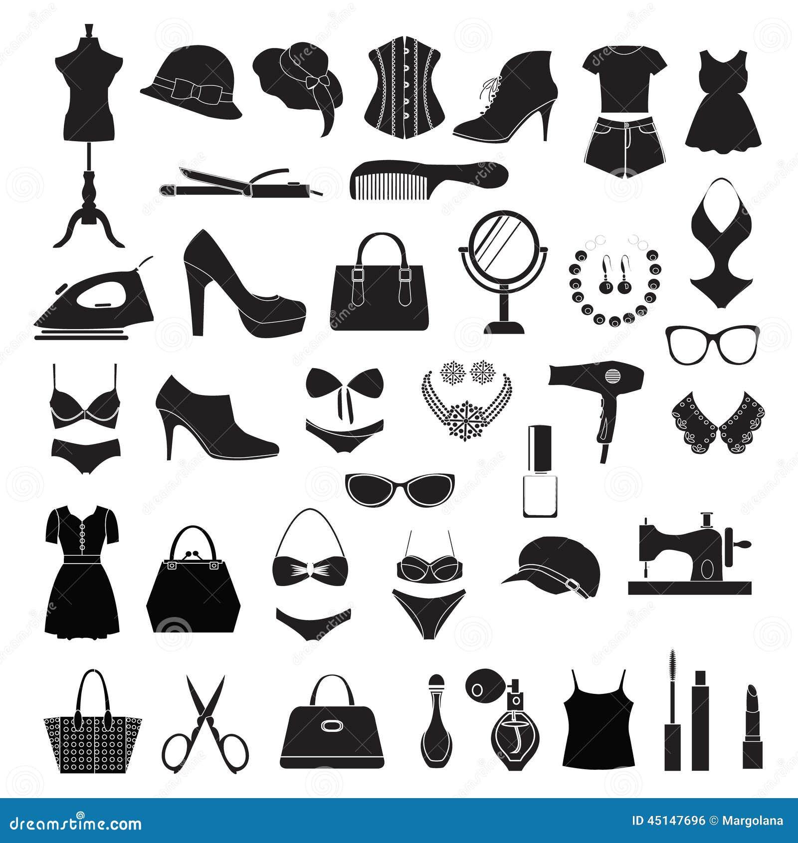 Fashion Accessories Illustration