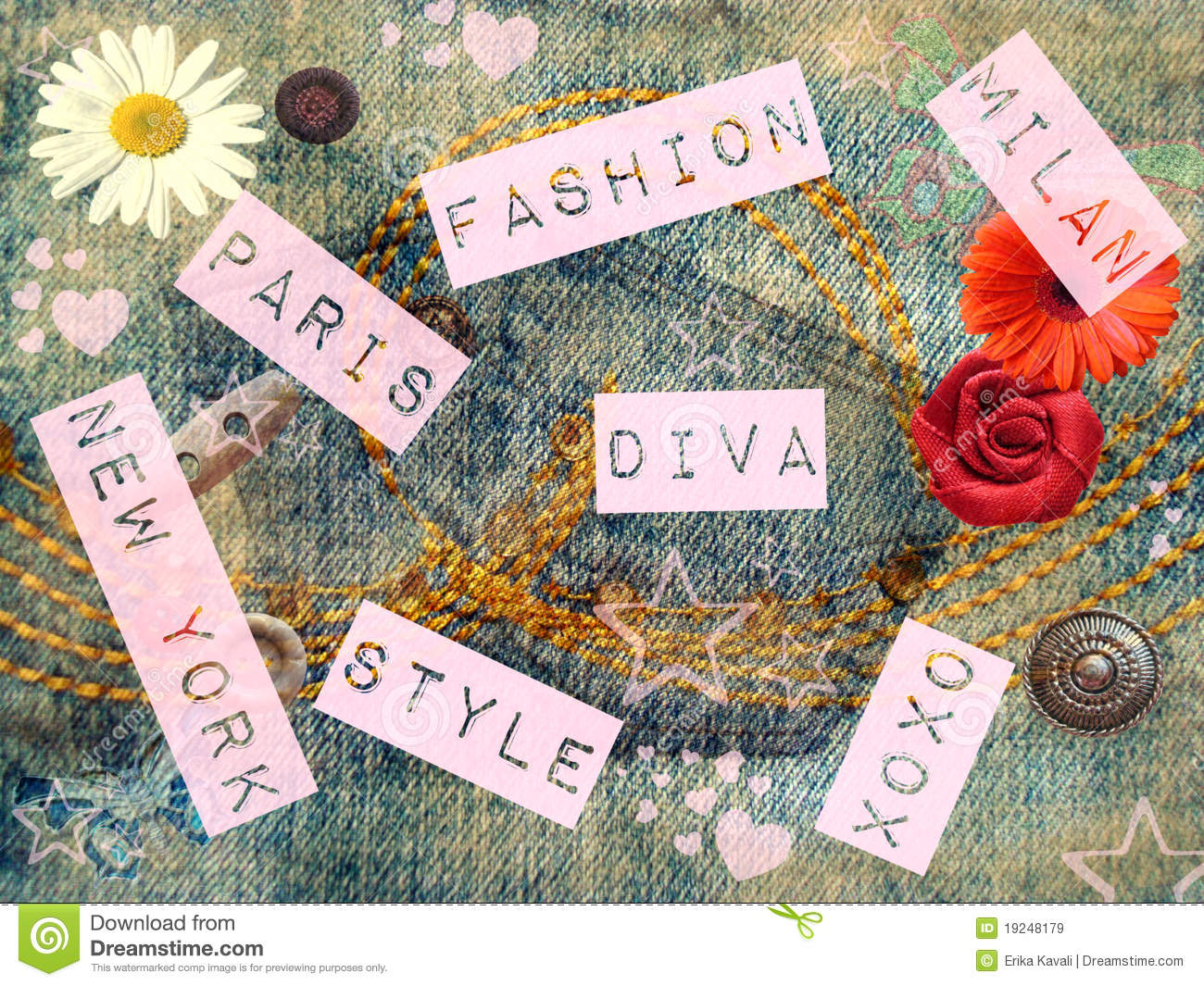Fashion Picture: Fashion Background Royalty Free Stock Images
