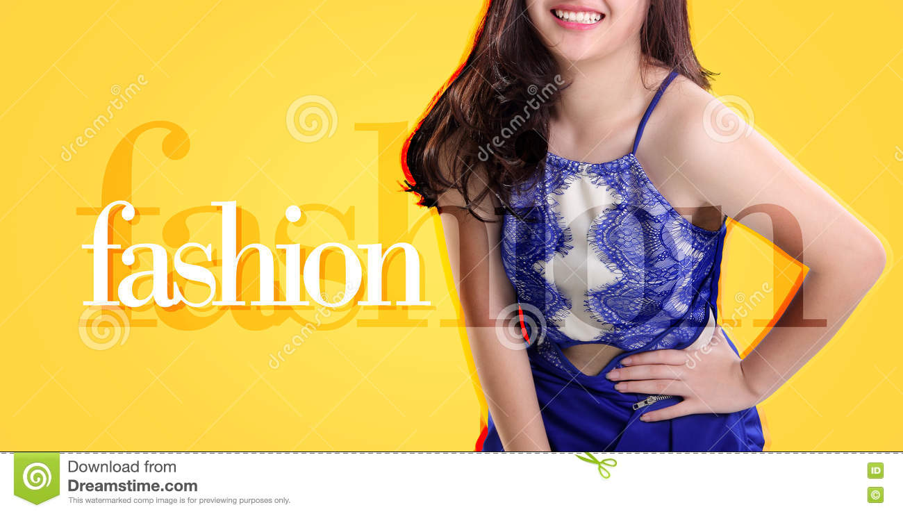 Fashion banner background