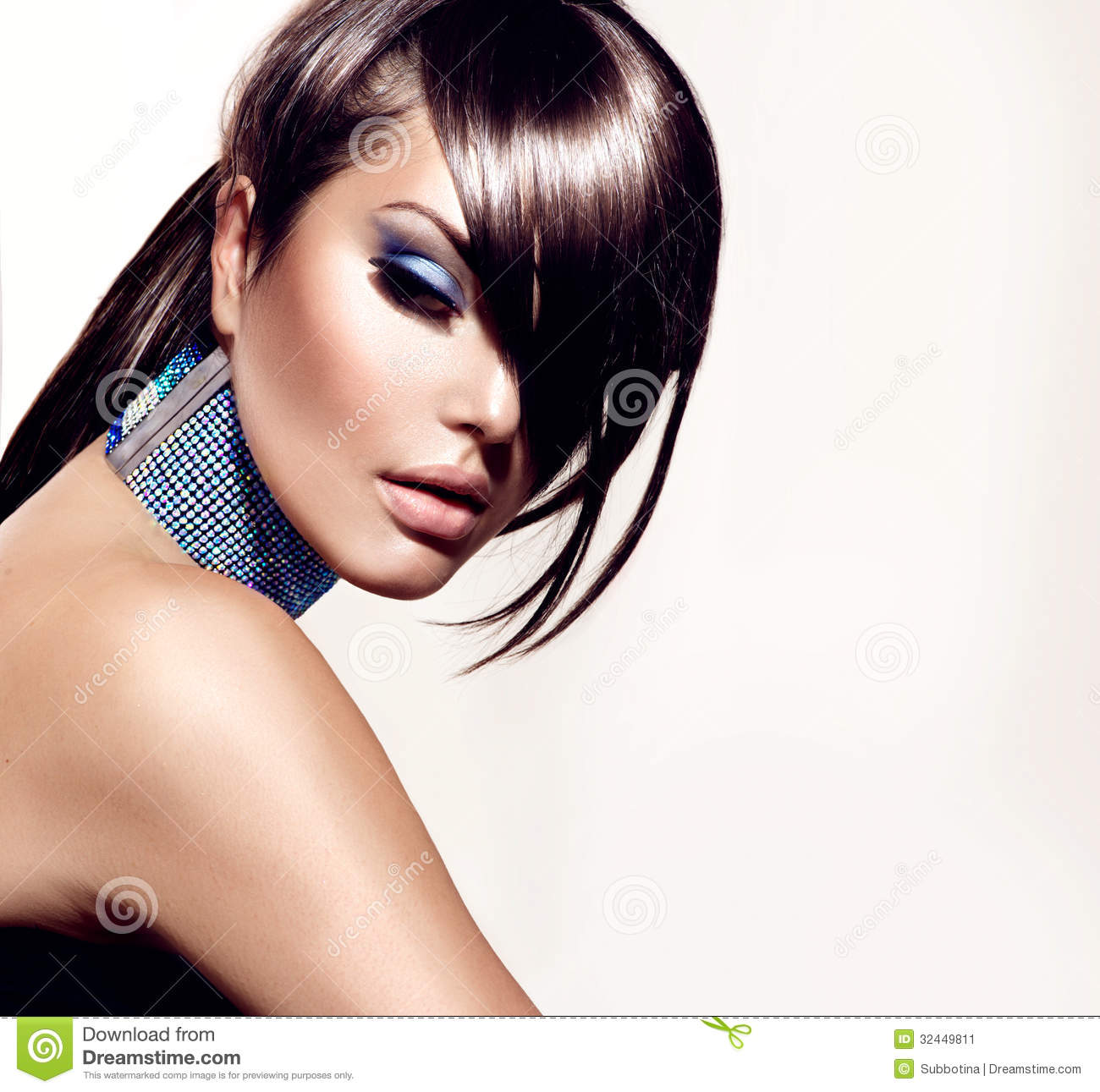 Fashion Beauty Girl Stock Image - Image: 32449811