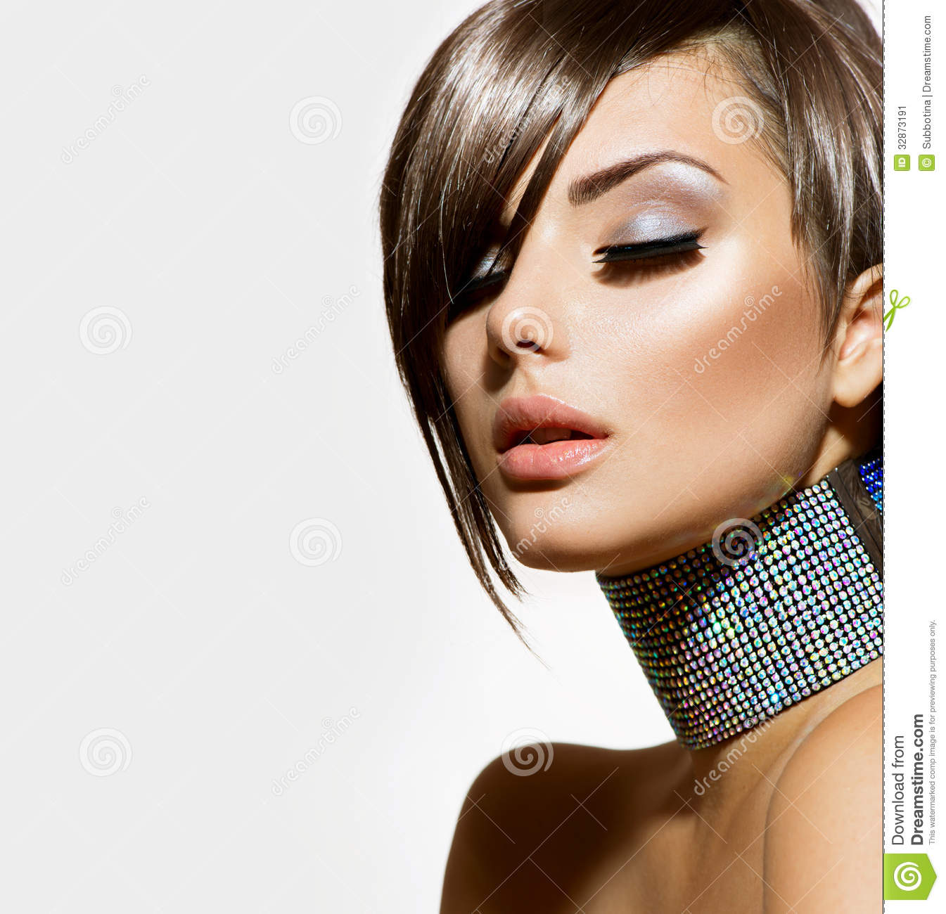 Fashion Beauty Girl Stock Image  Image: 32873191