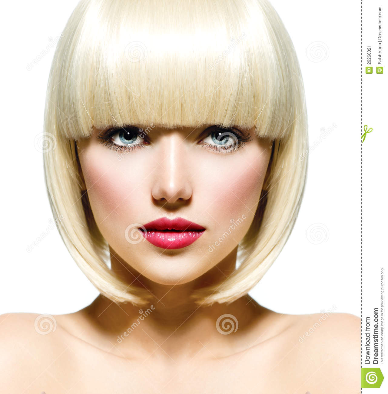 Beauty Is As Beauty Does Pictures: Fashion Beauty Portrait Stock Image. Image Of Lipstick