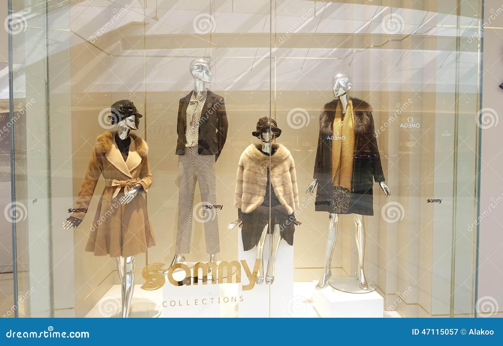 58b2c6dc30f64 Fashion Boutique Clothing Shop Window Dress Store Editorial ...