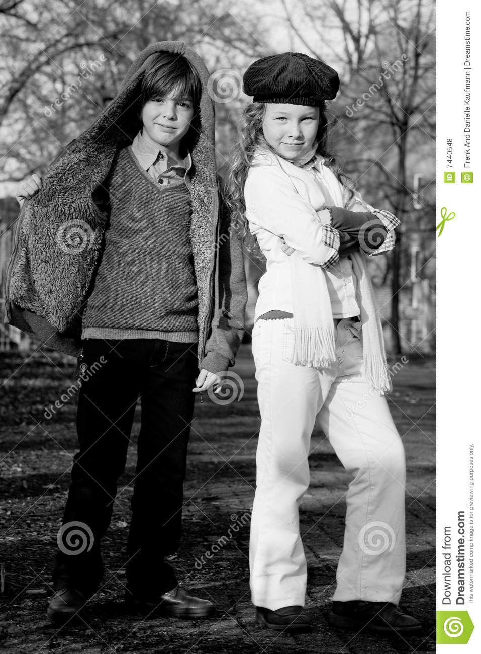 Fashion Boy And Girl Royalty Free Stock Photos Image