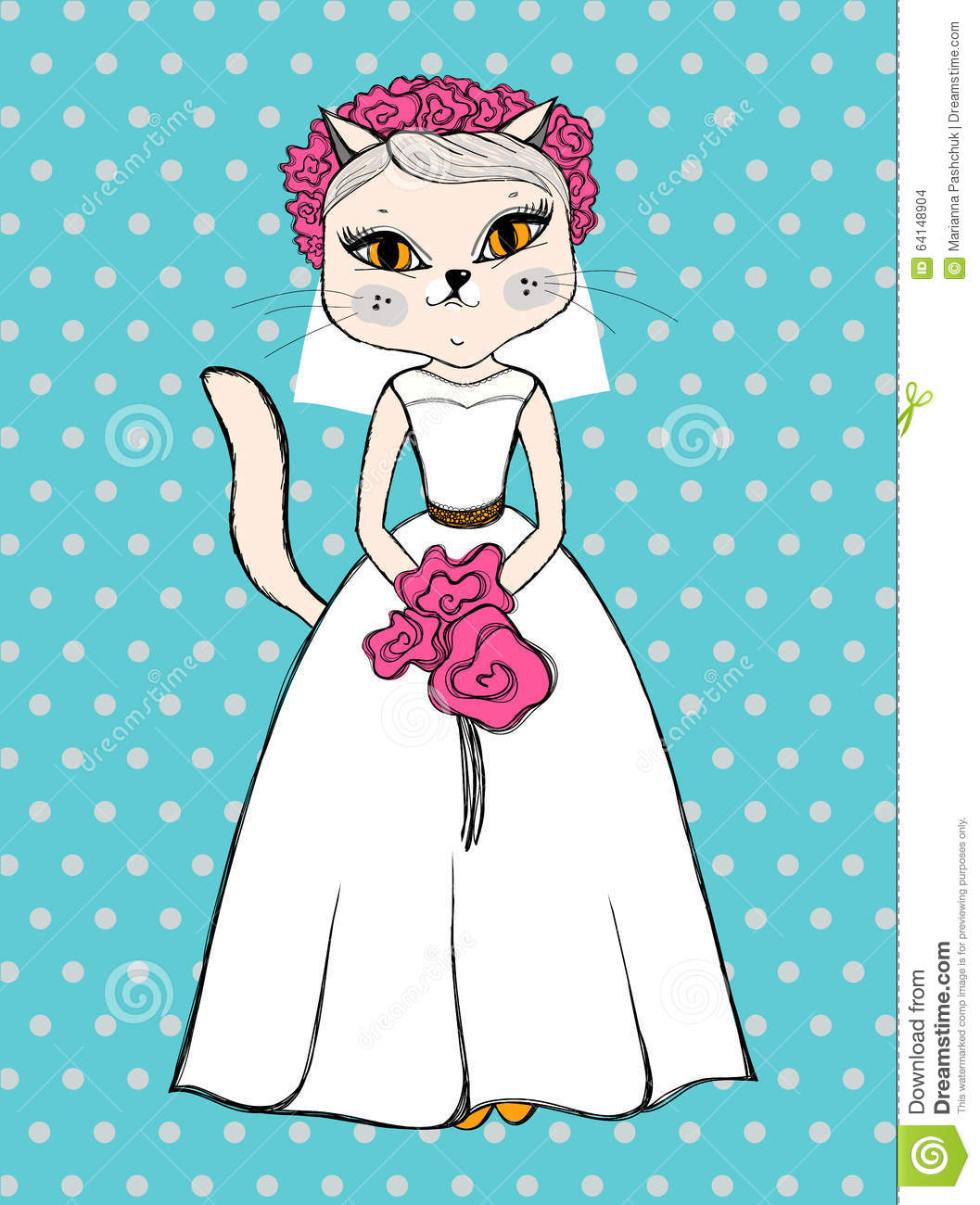 Cats Groom Bride Stock Illustrations – 103 Cats Groom Bride Stock  Illustrations, Vectors & Clipart - Dreamstime