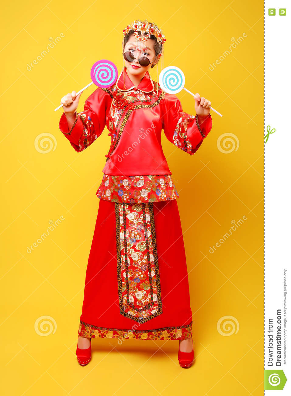 Fashion Chinese style —— human figures photography