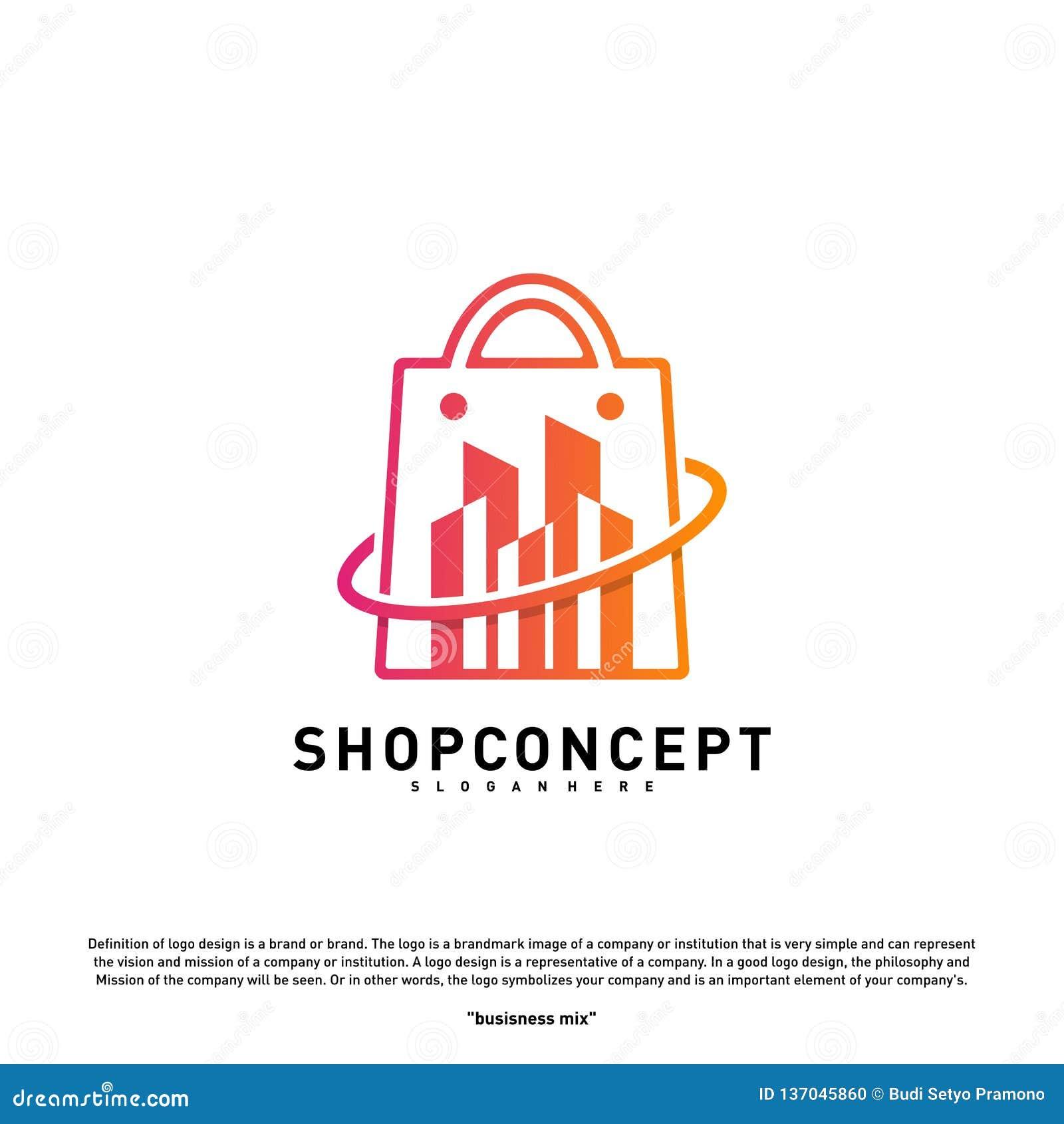 Collection Of Nice Logos For Spa: Beauty Shoplogo: Fashion City Logo Concept Vector