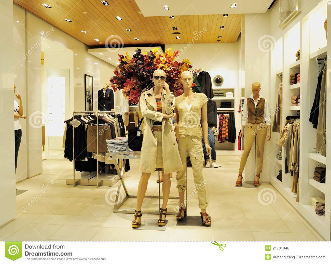 International clothing stores