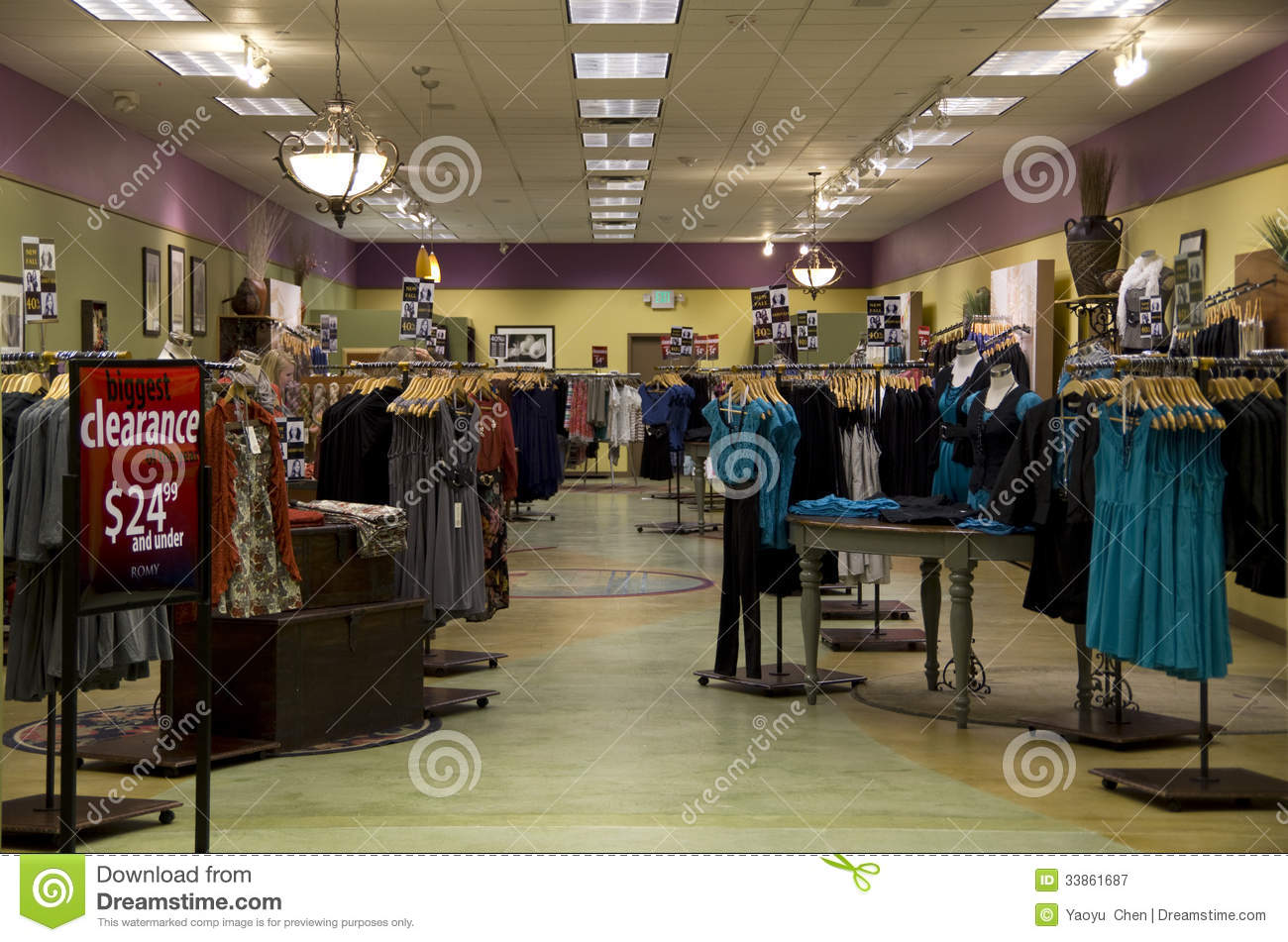 e7a7c51e86f A store with nice interiors selling women clothing in Alderwood Mall near  Seattle.