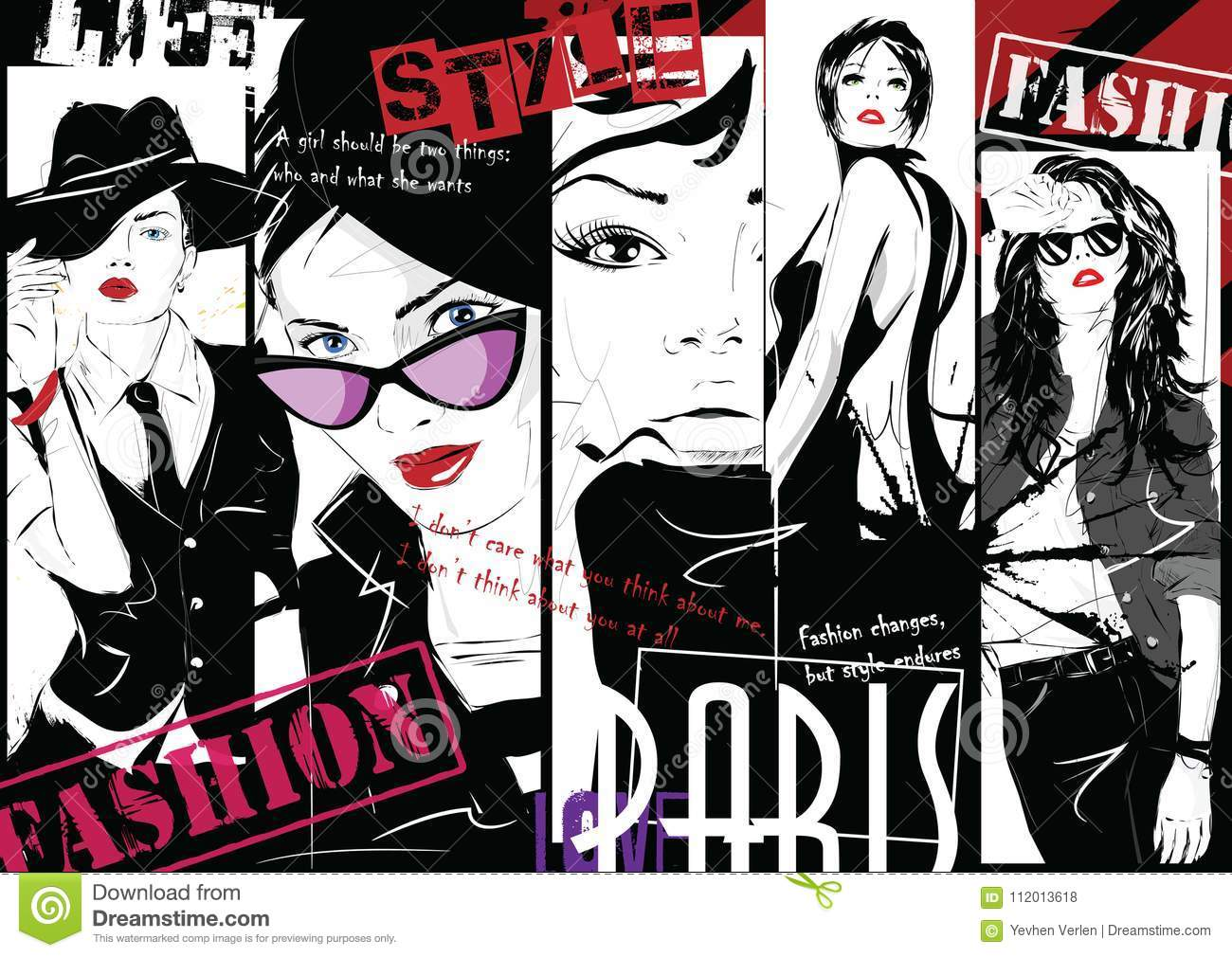 Buy Collage Fashion backgrounds pictures picture trends