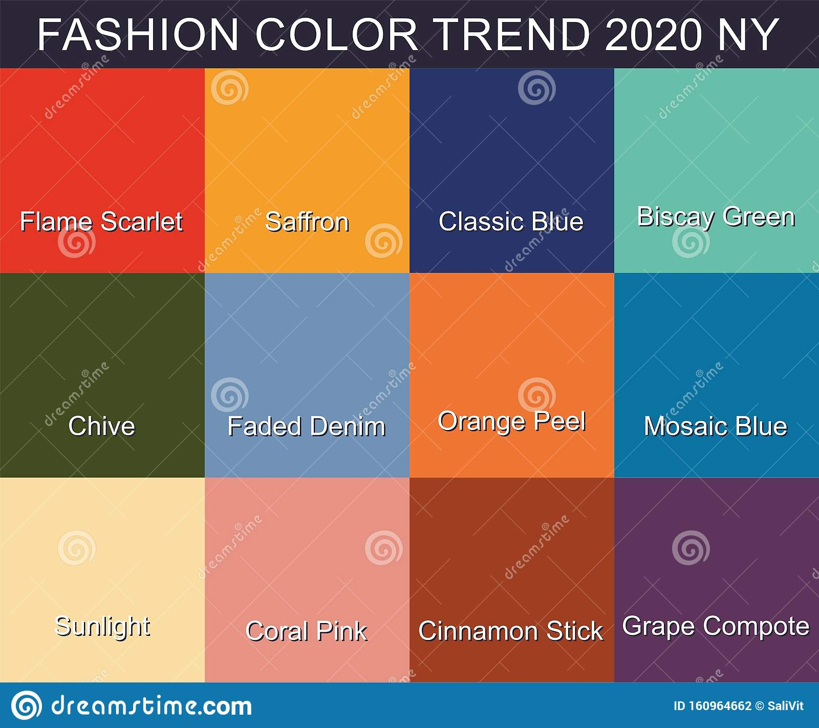 FASHION COLOR TREND Spring Summer 2020. New Trendy Colors ...