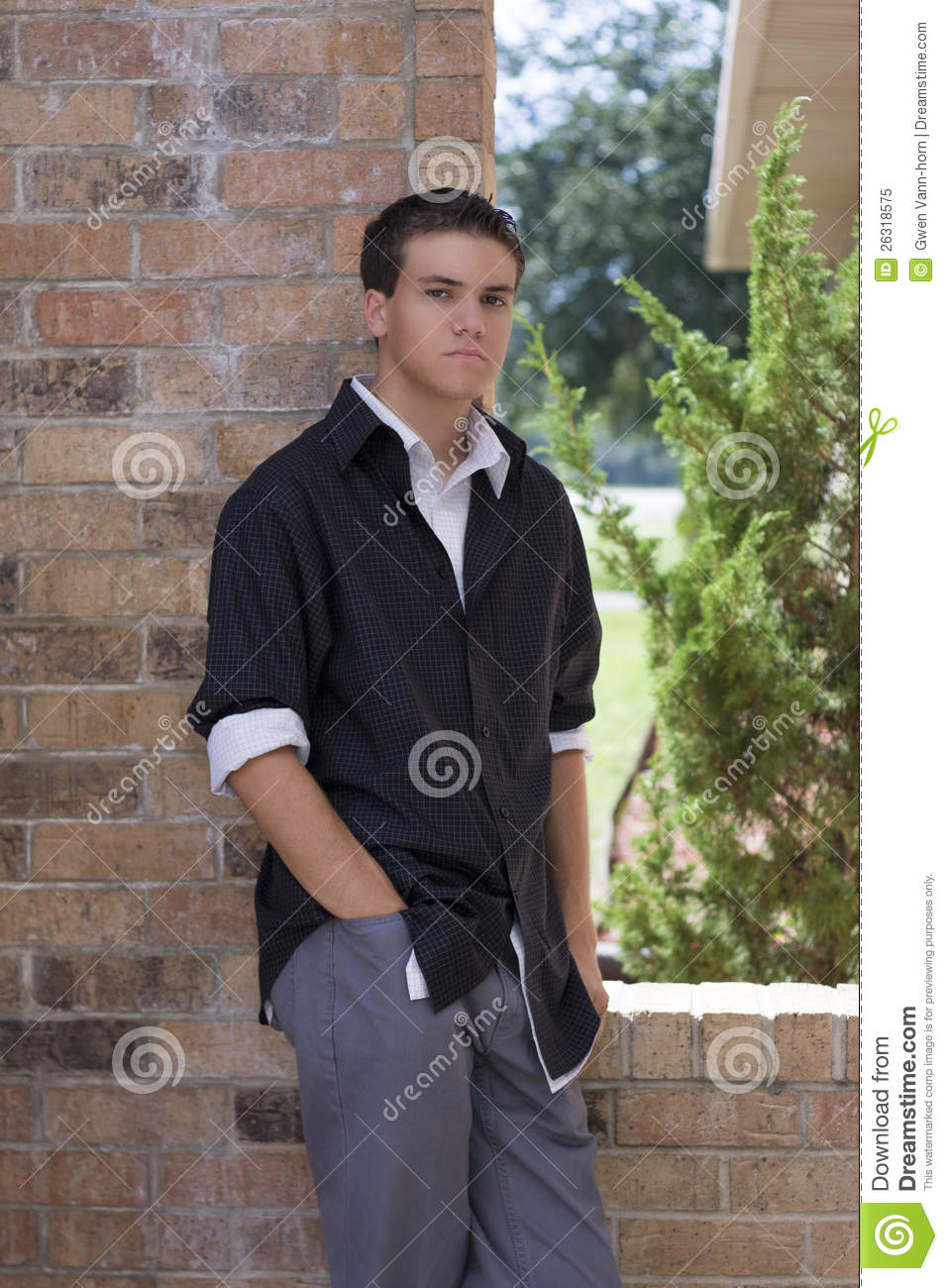 Fashion Conscious Young Man Royalty Free Stock Photo ...