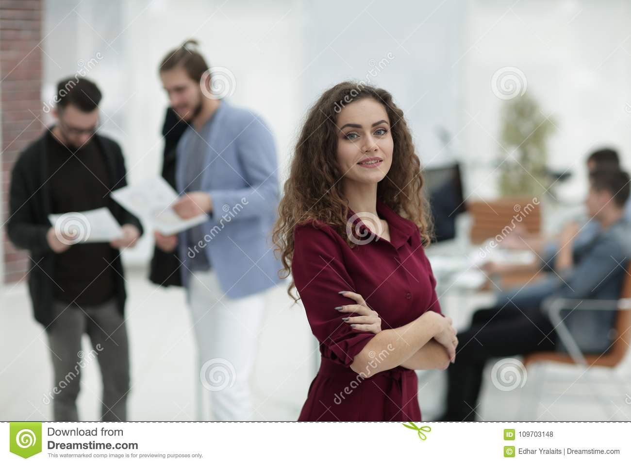 Fashion Designer Standing In A Creative Studio P Stock Photo Image Of Owner Fashion 109703148