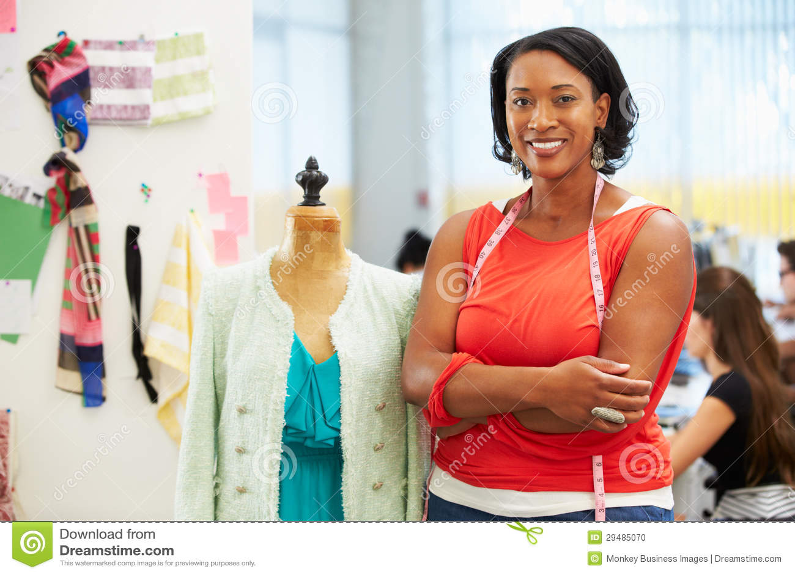 Fashion Designer Design Shopping Tour Dress Code Cartoon Vector 52461101