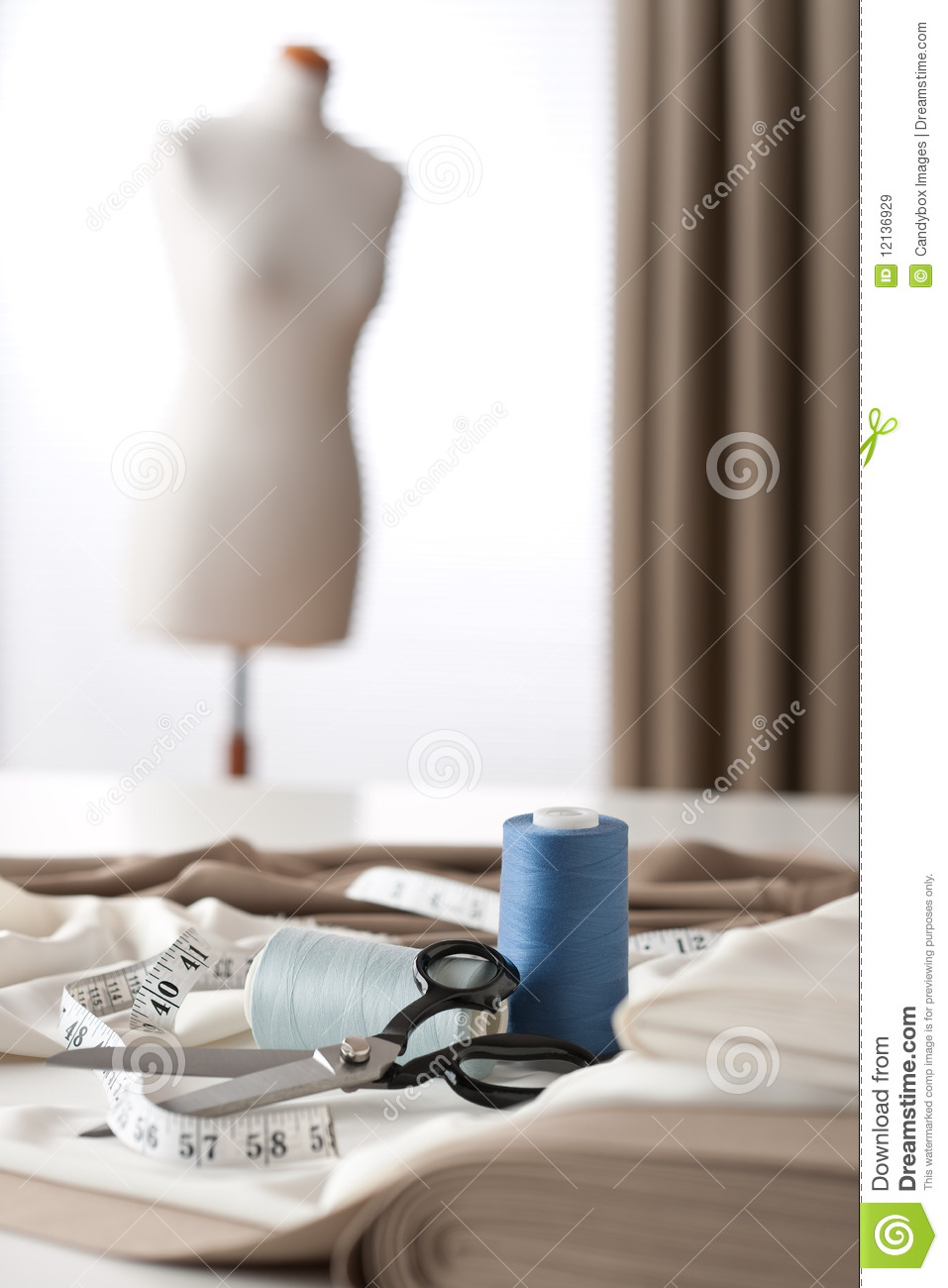 Studio with mannequin royalty free stock images image 12136929