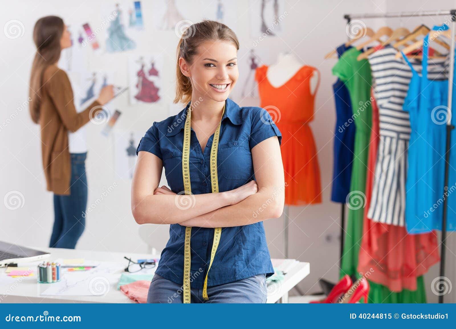 fashion designers at work stock image image of adult 40244815fashion designers at work