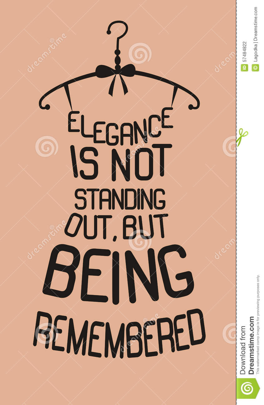 fashion dress from quotes stock vector image 57484822