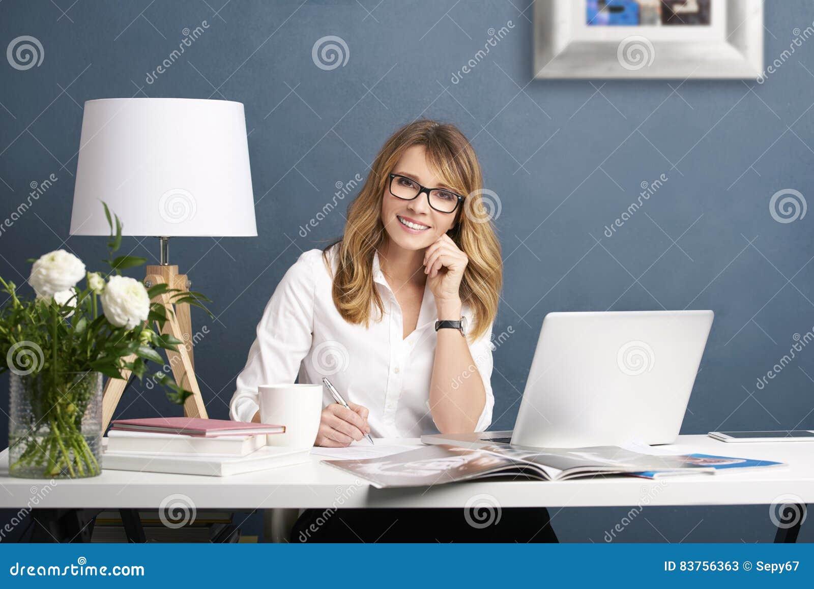 Fashion editor businesswoman