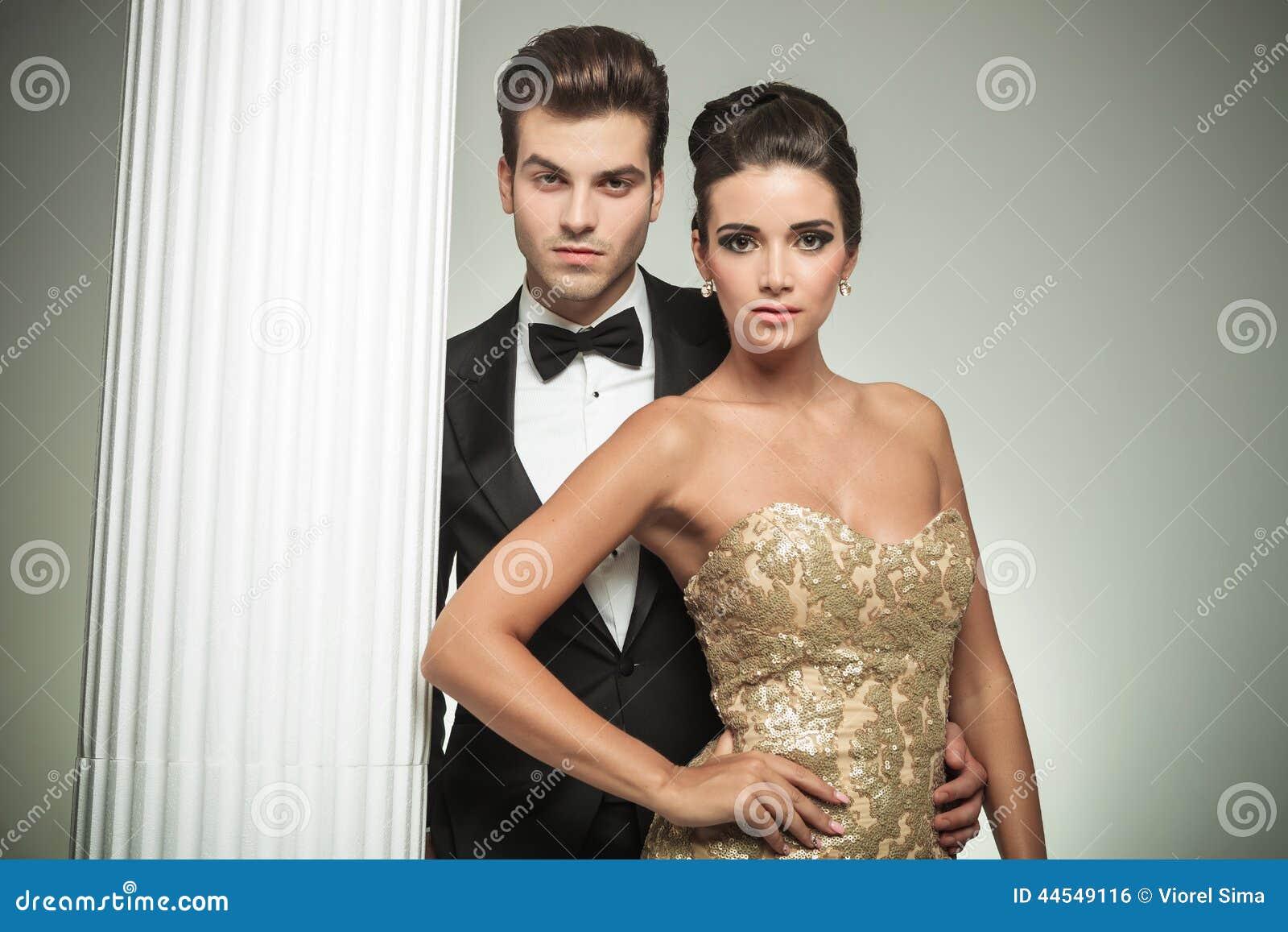Fashion Elegant Couple...