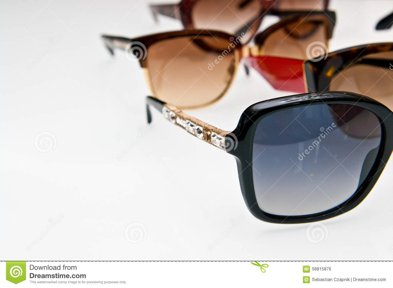 Fashion Sunglasses Stock Photo Image 58815876