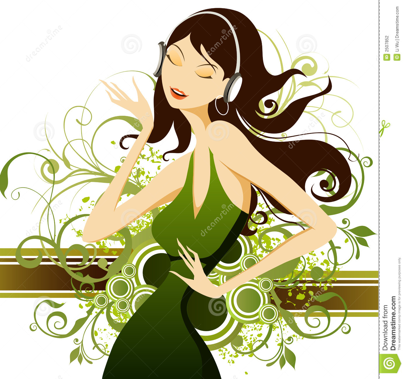 Fashion Girl Stock Vector Image Of Style Vector Design 2507852