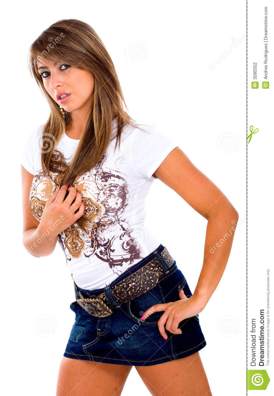 Fashion Girl Portrait Stock Photo Image Of