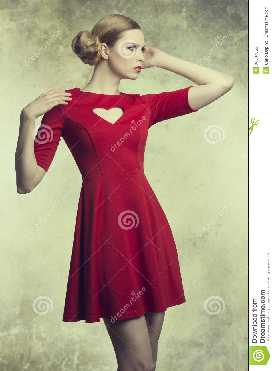 fashion girl with romantic style royalty free stock photo image 34507055