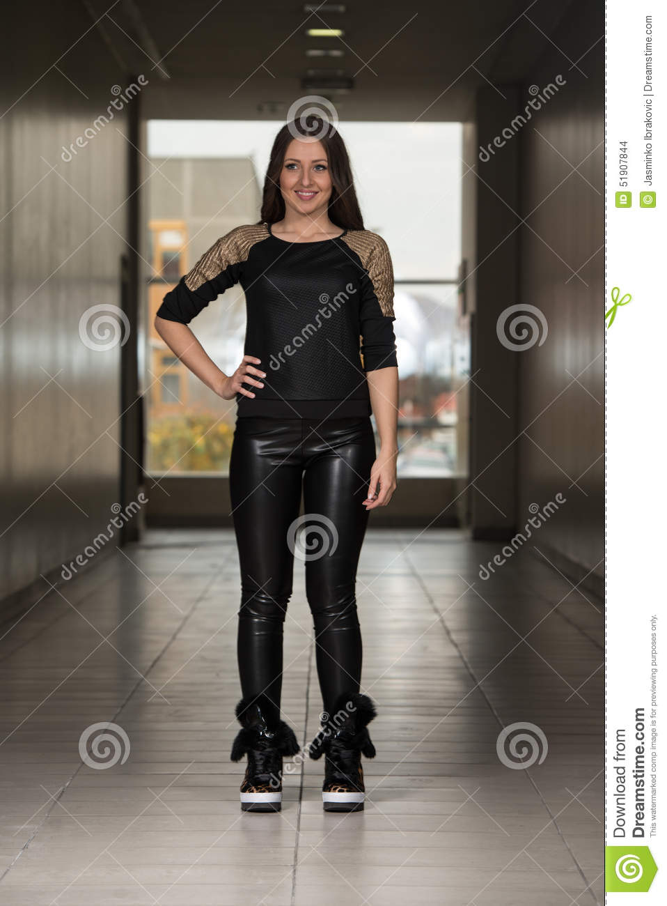 Innovative   Arrogant German Women In Leather Susan Hoecke In Leather Pants