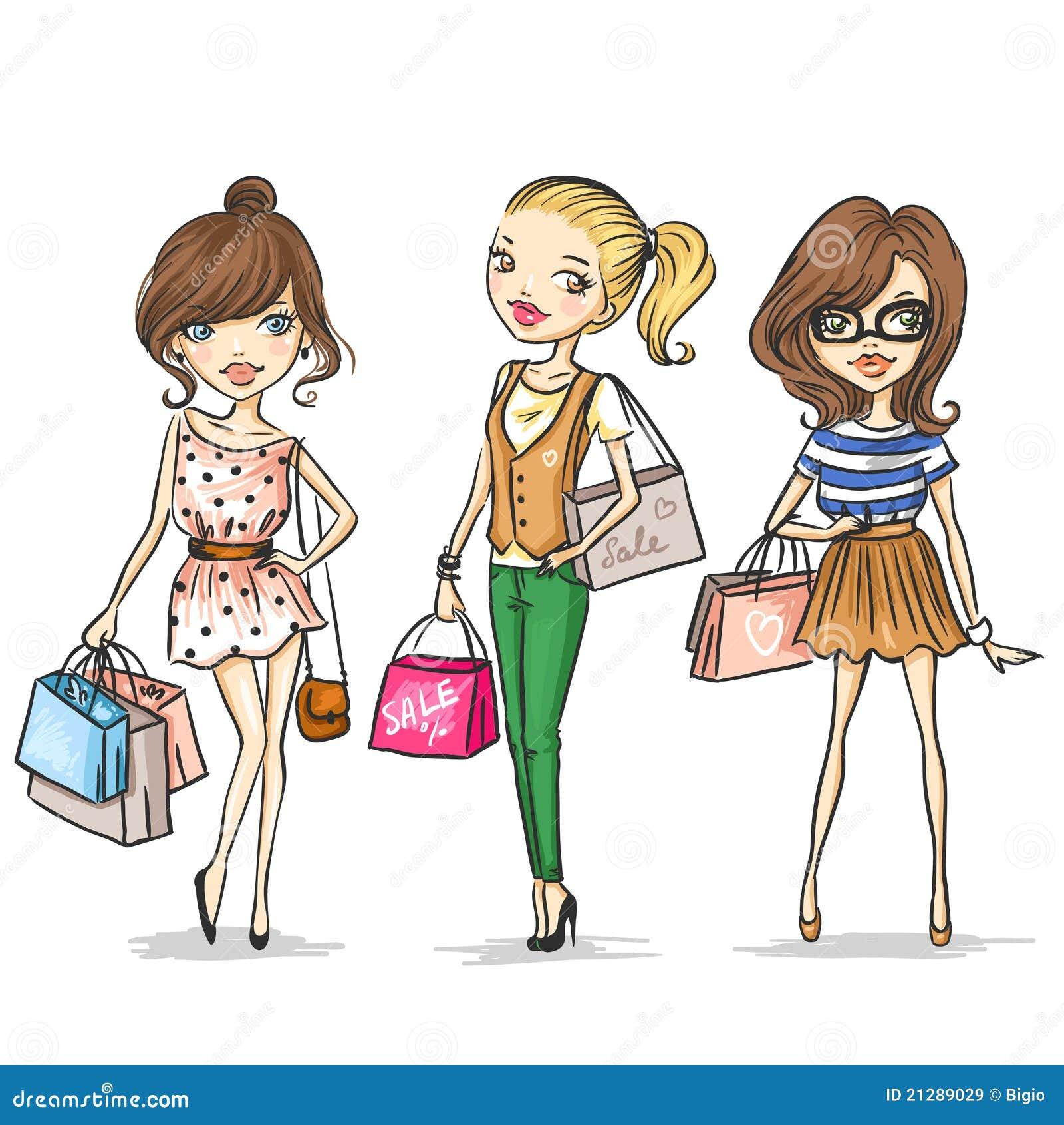 Fashion Show Clipart Kids