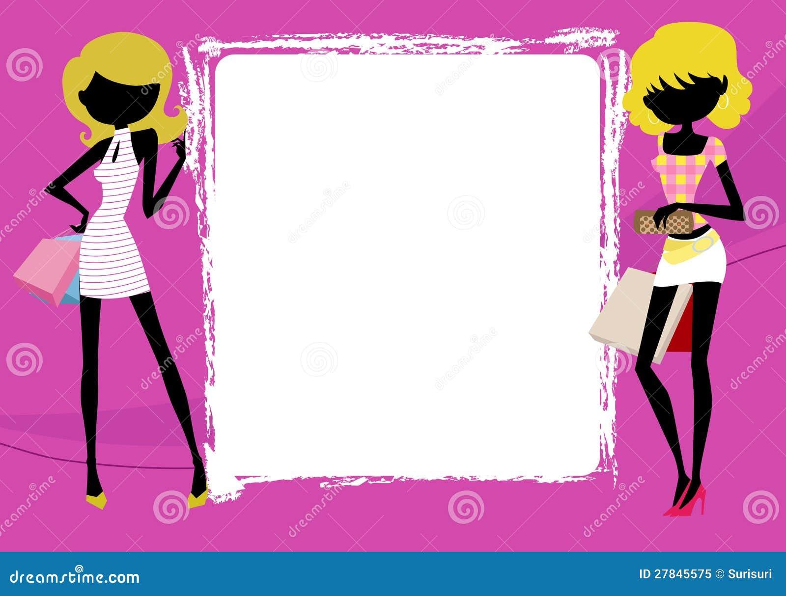 девушки в кадре