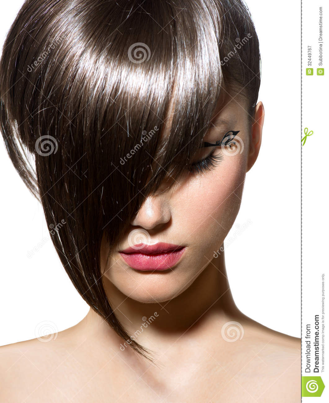hair style imege fashion haircut royalty free stock photography image 3929