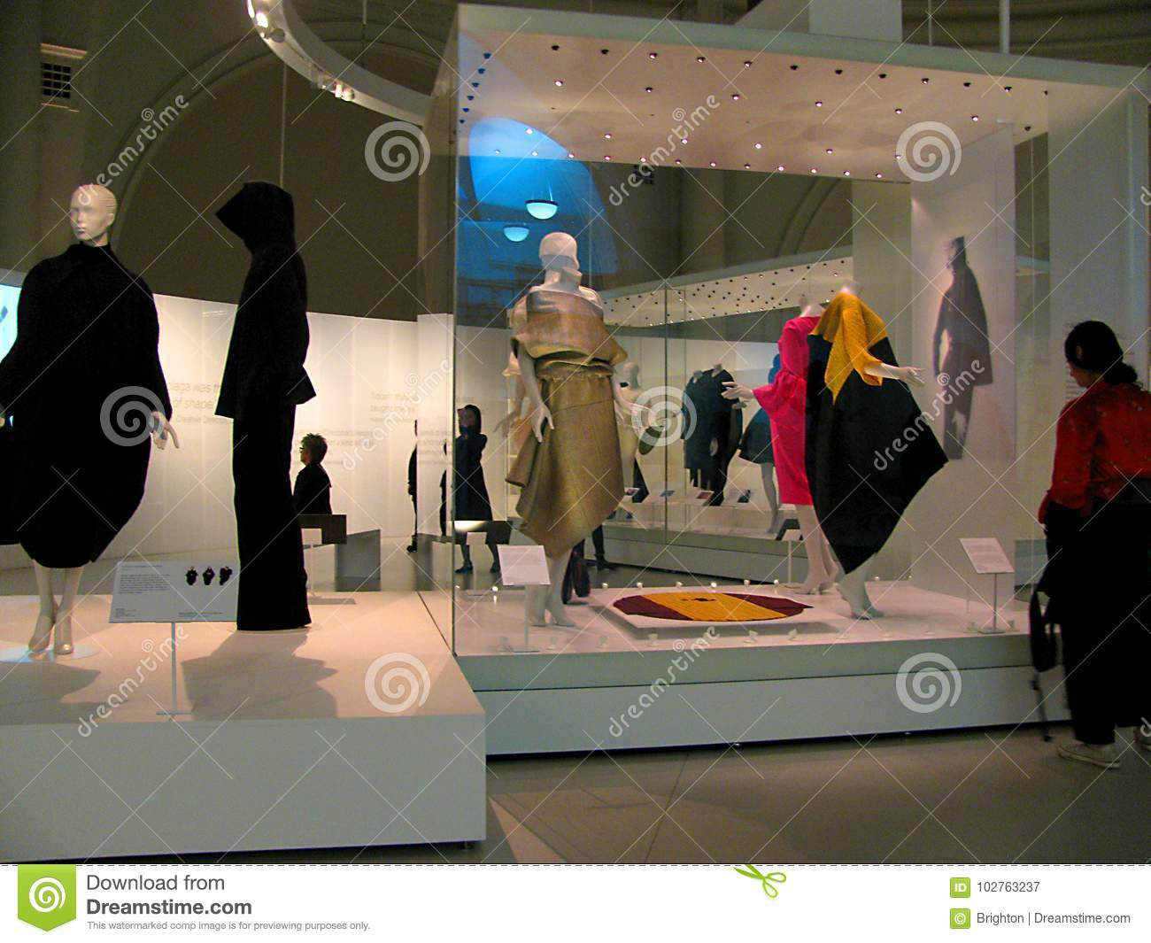 Fashion history exhibition at Victoria and Albert Museum in London