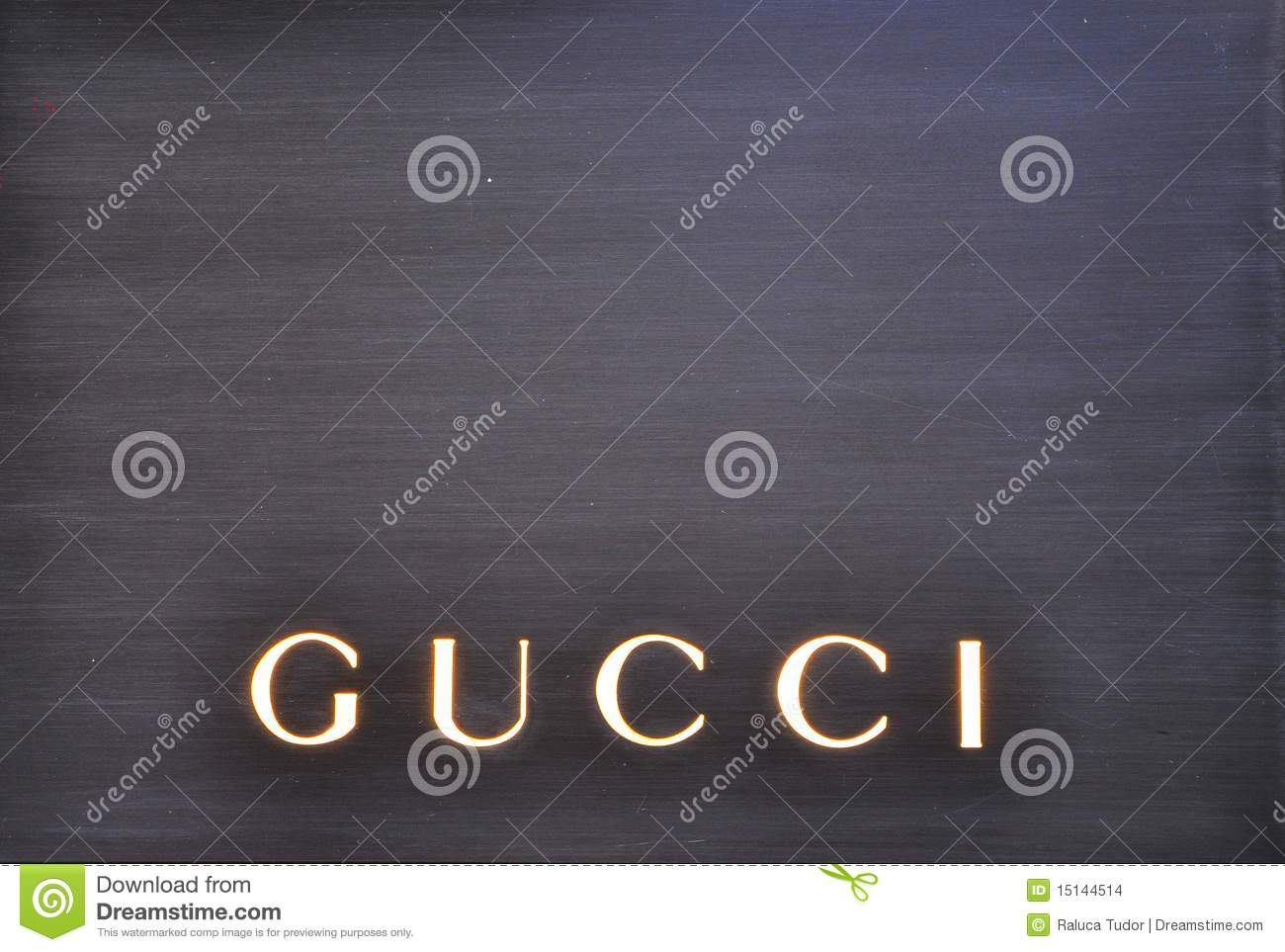 87f0573ec Fashion Icon. Gucci Store In Italy Editorial Stock Image - Image of ...