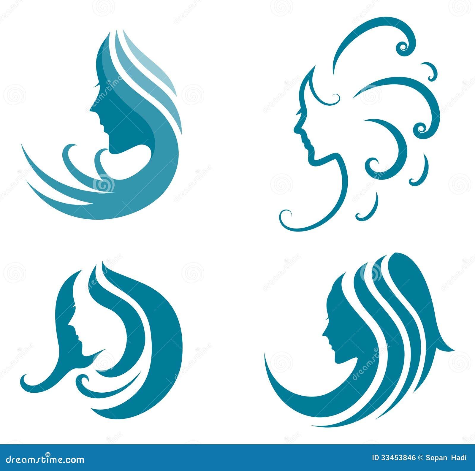 Fashion Icon Symbol Of Female Beauty Illustration 33453846 Megapixl