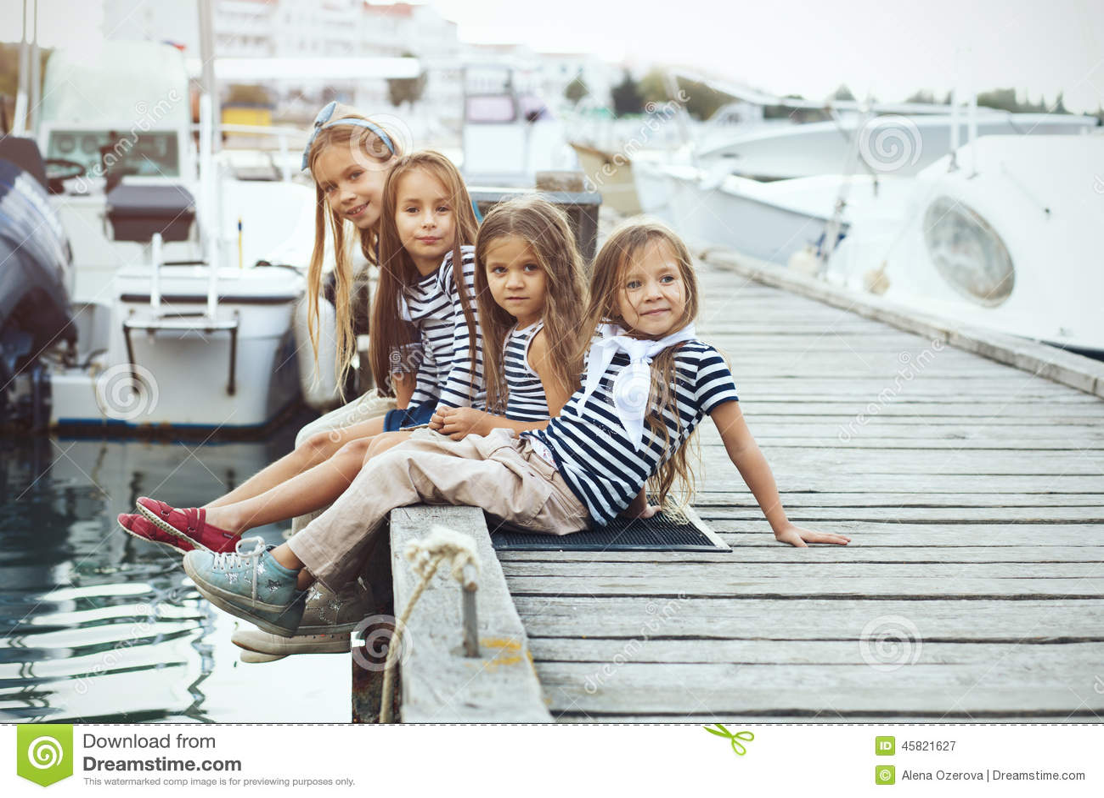 Fashion Kids Stock Photo Image 45821627