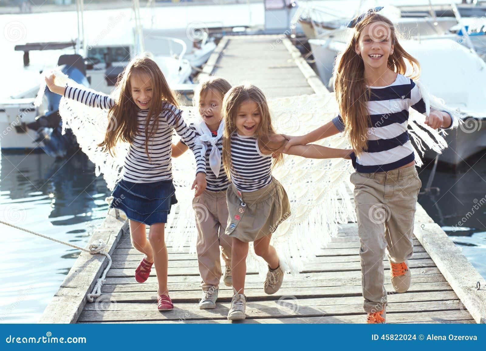 Fashion Kids Stock Photo Image 45822024