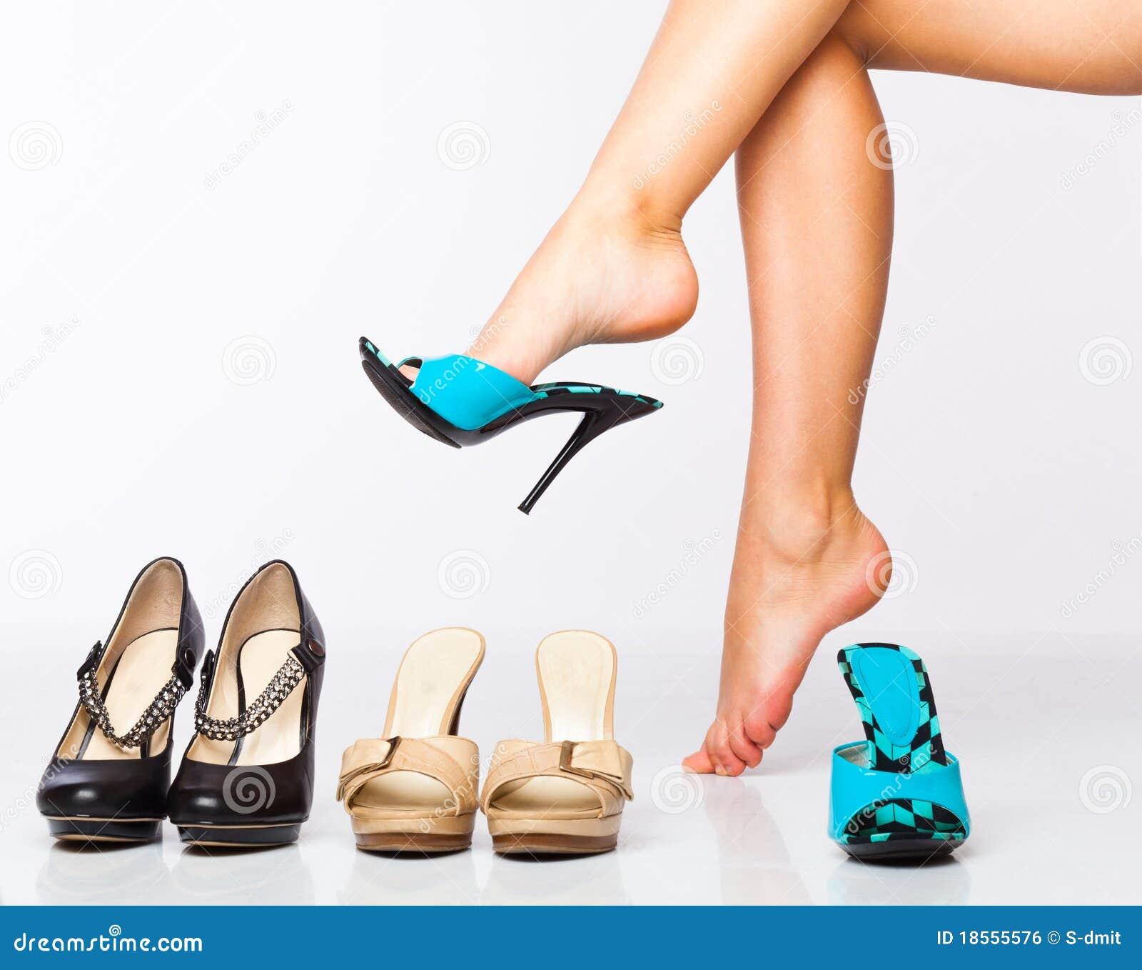 Fashion kvinnligbenskor