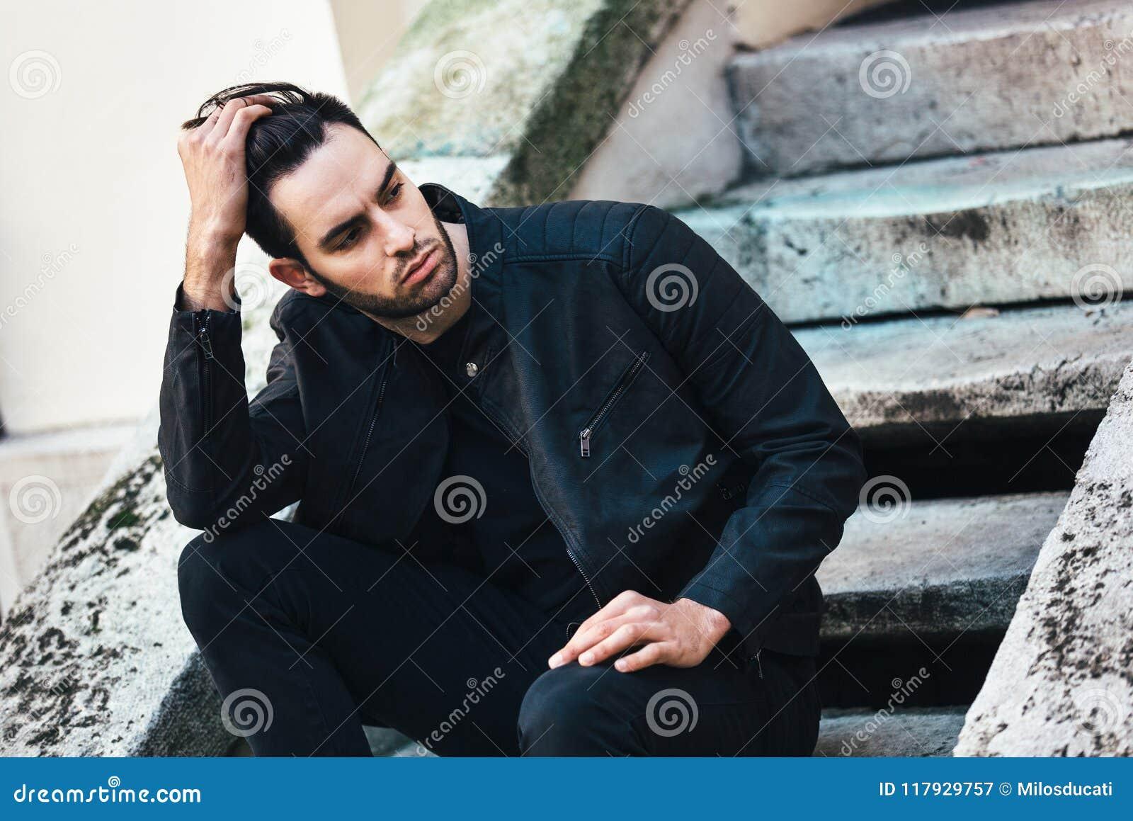 Fashion man stock image. Image of lifestyle, hipster , 117929757