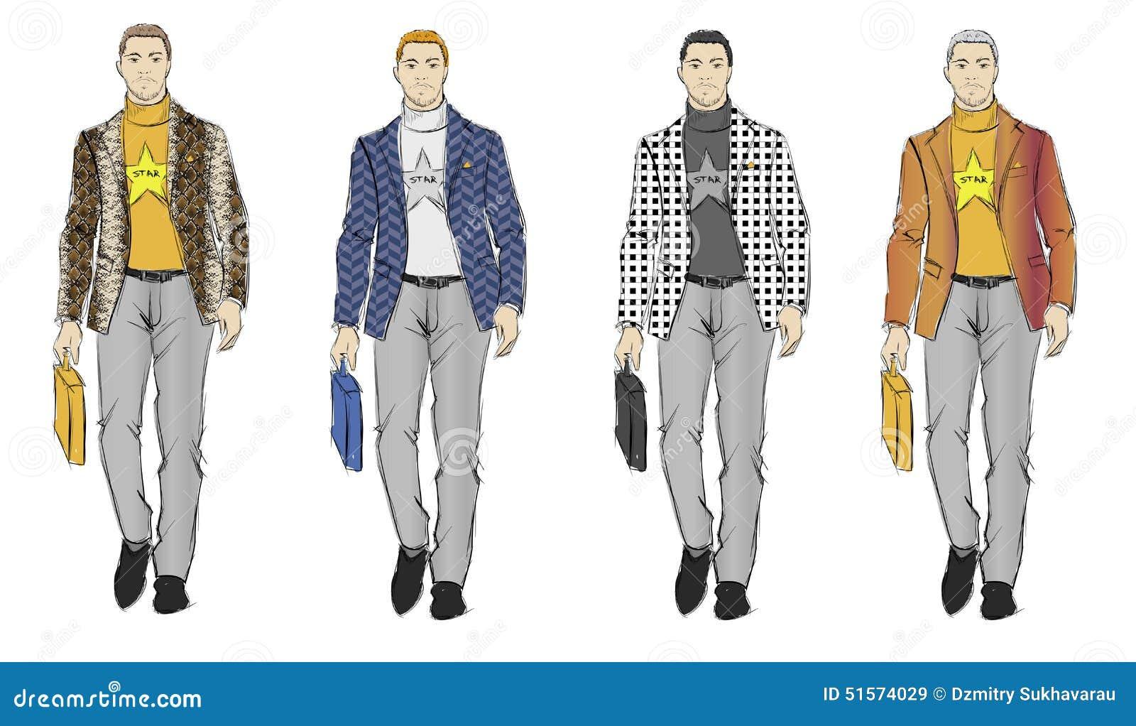 male clothing design sketches wwwimgkidcom the image