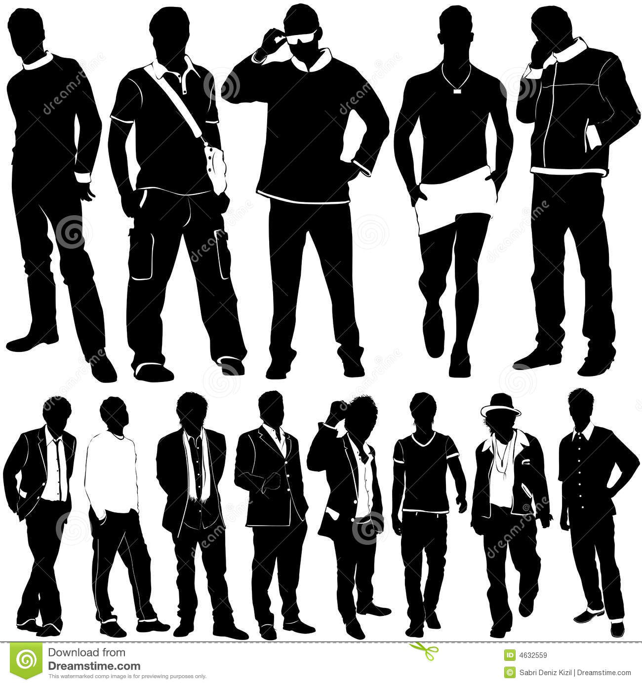 fashion men vector stock vector illustration of body 4632559 rh dreamstime com Male Face Vector Vector Guy