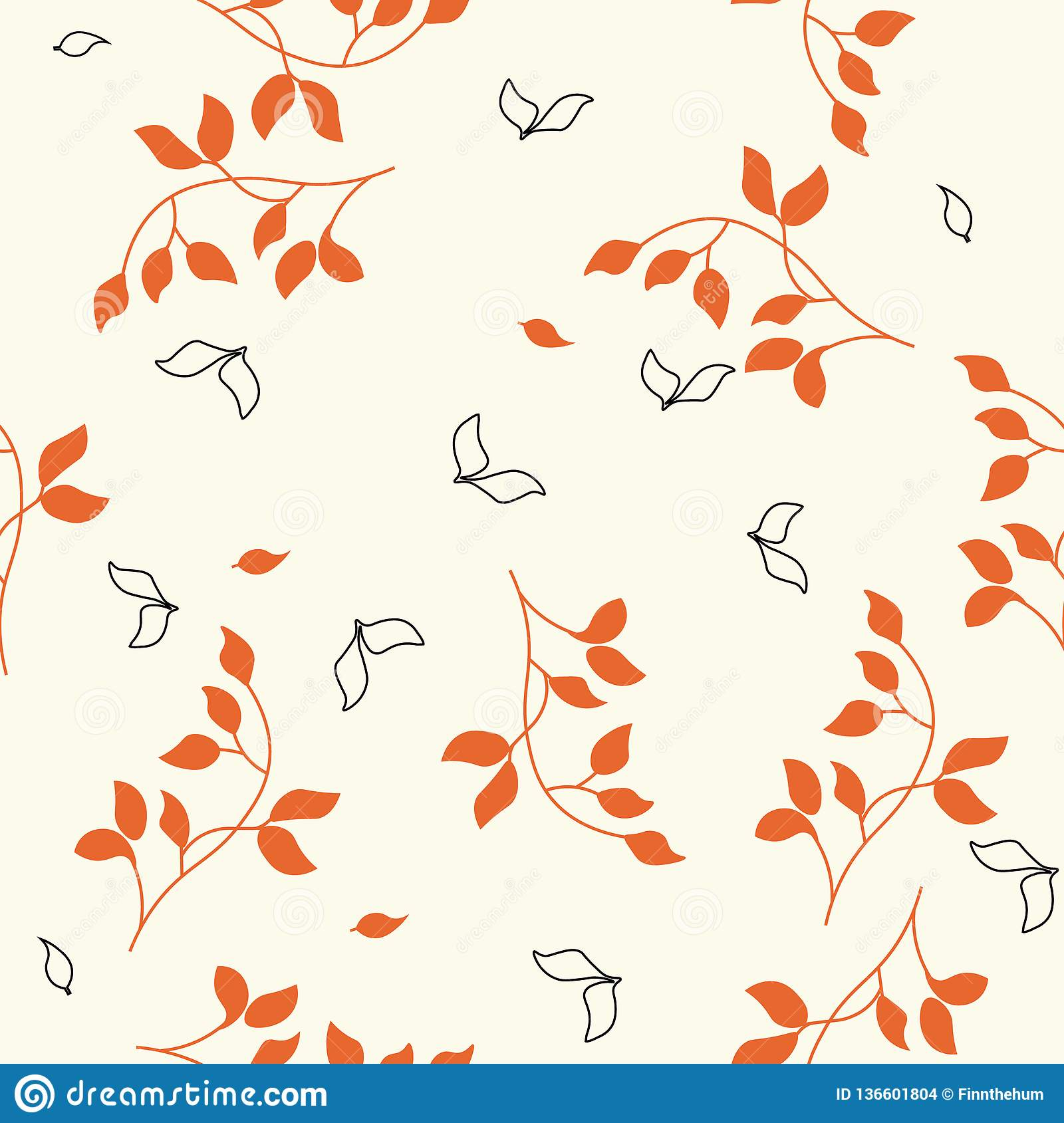Fashion minimalistic seamless pattern for design.red