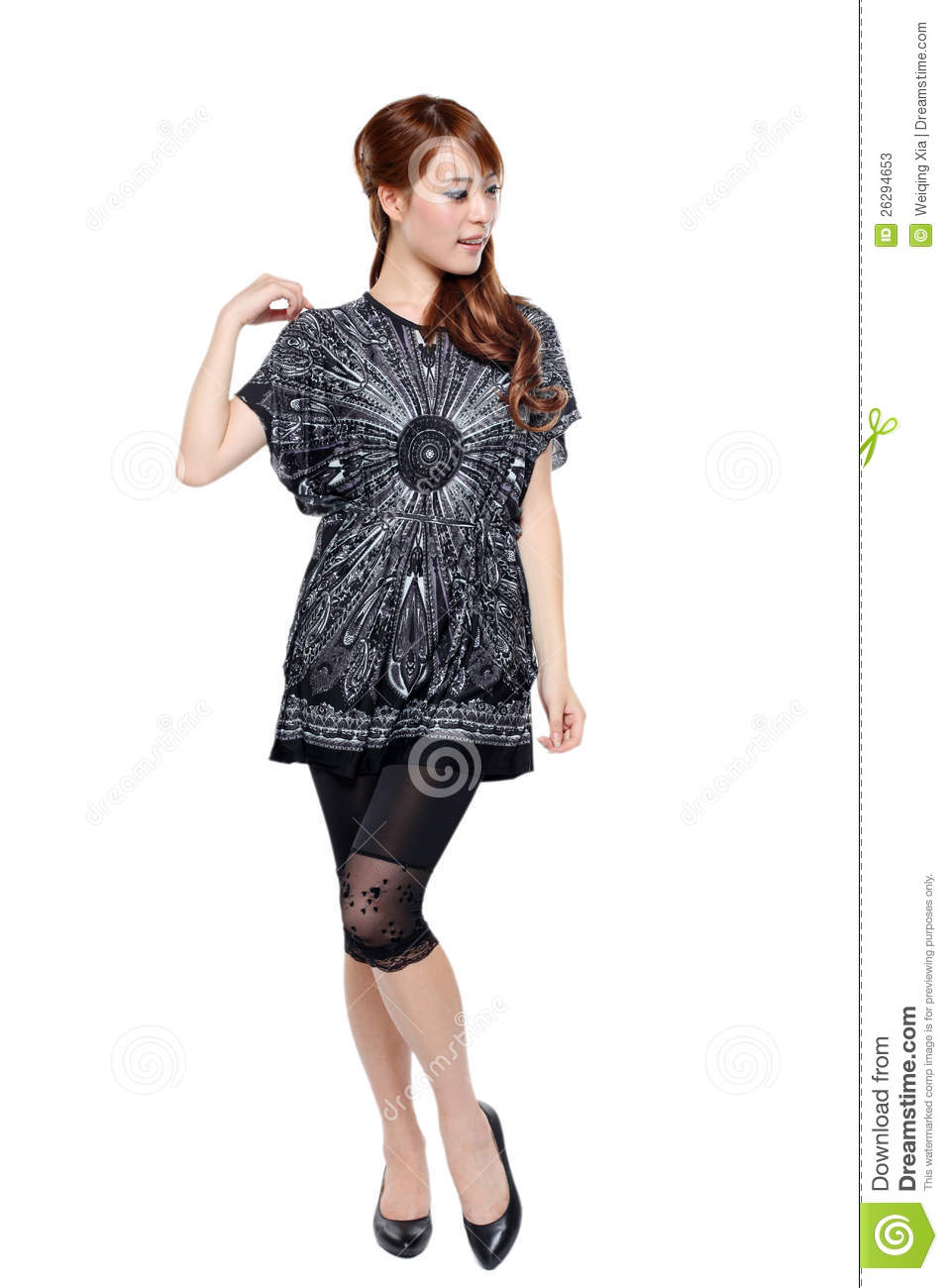 fashion model pose stock image image of asia asian