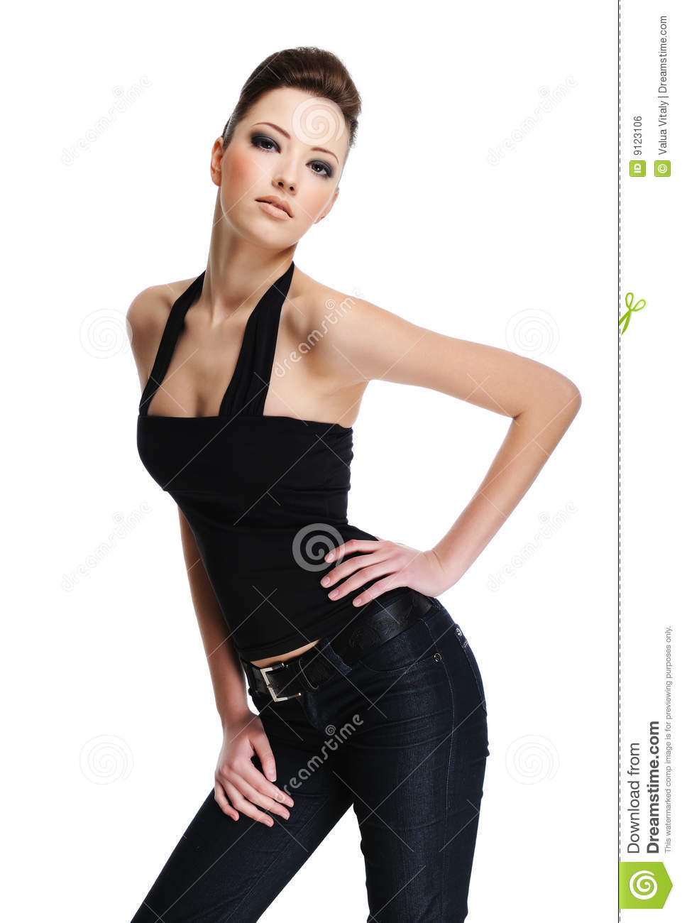Https Www Dreamstime Com Royalty Free Stock Image Fashion Model Pose Image9123106