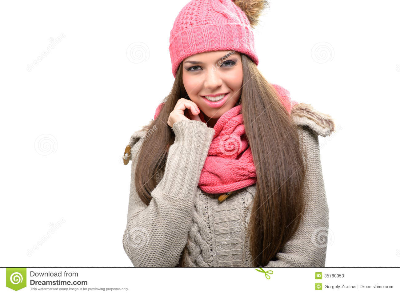 Fashionable winter clothes