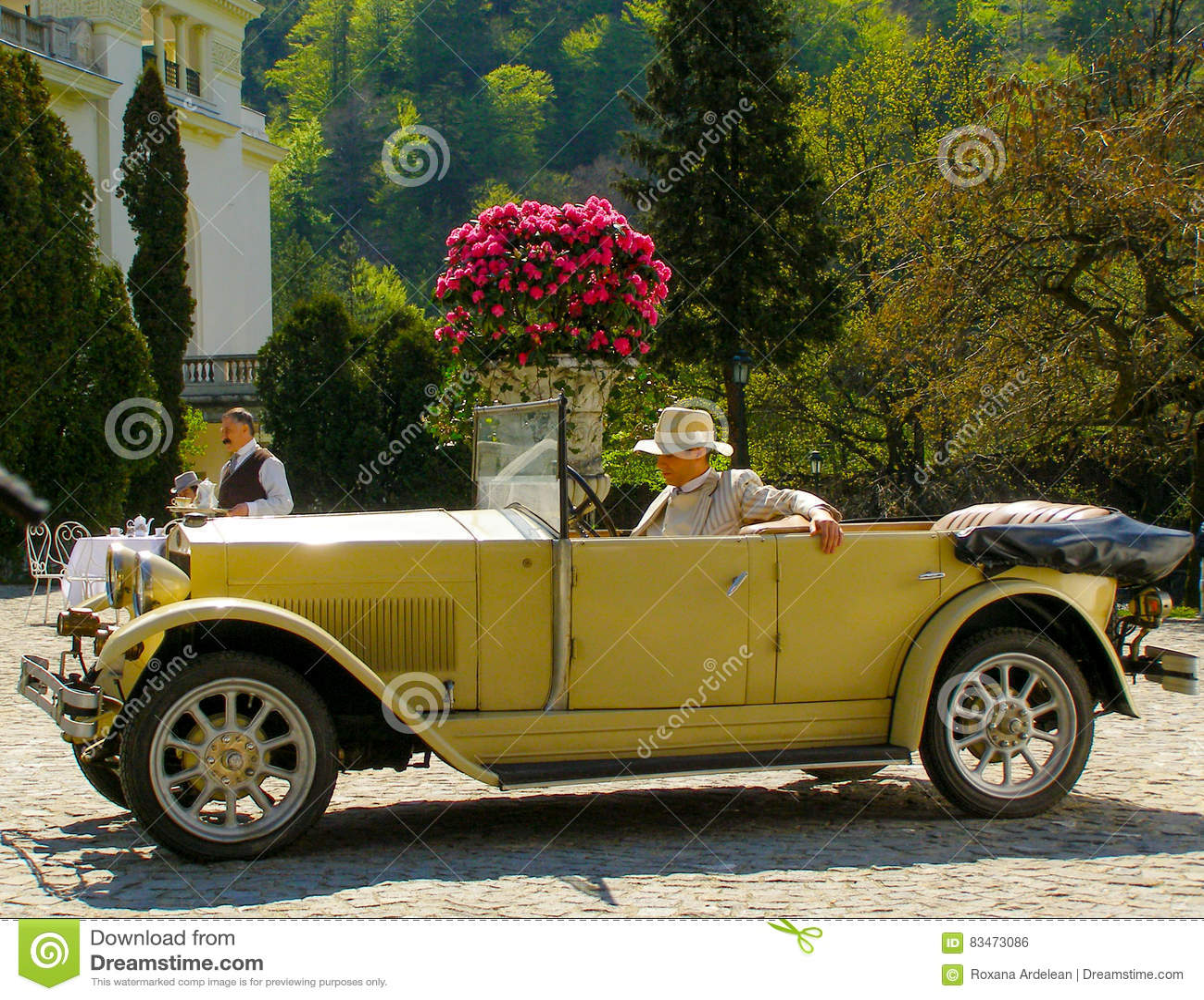 Fashion Old Car Automobile Highclass Rich Money Editorial Photo ...
