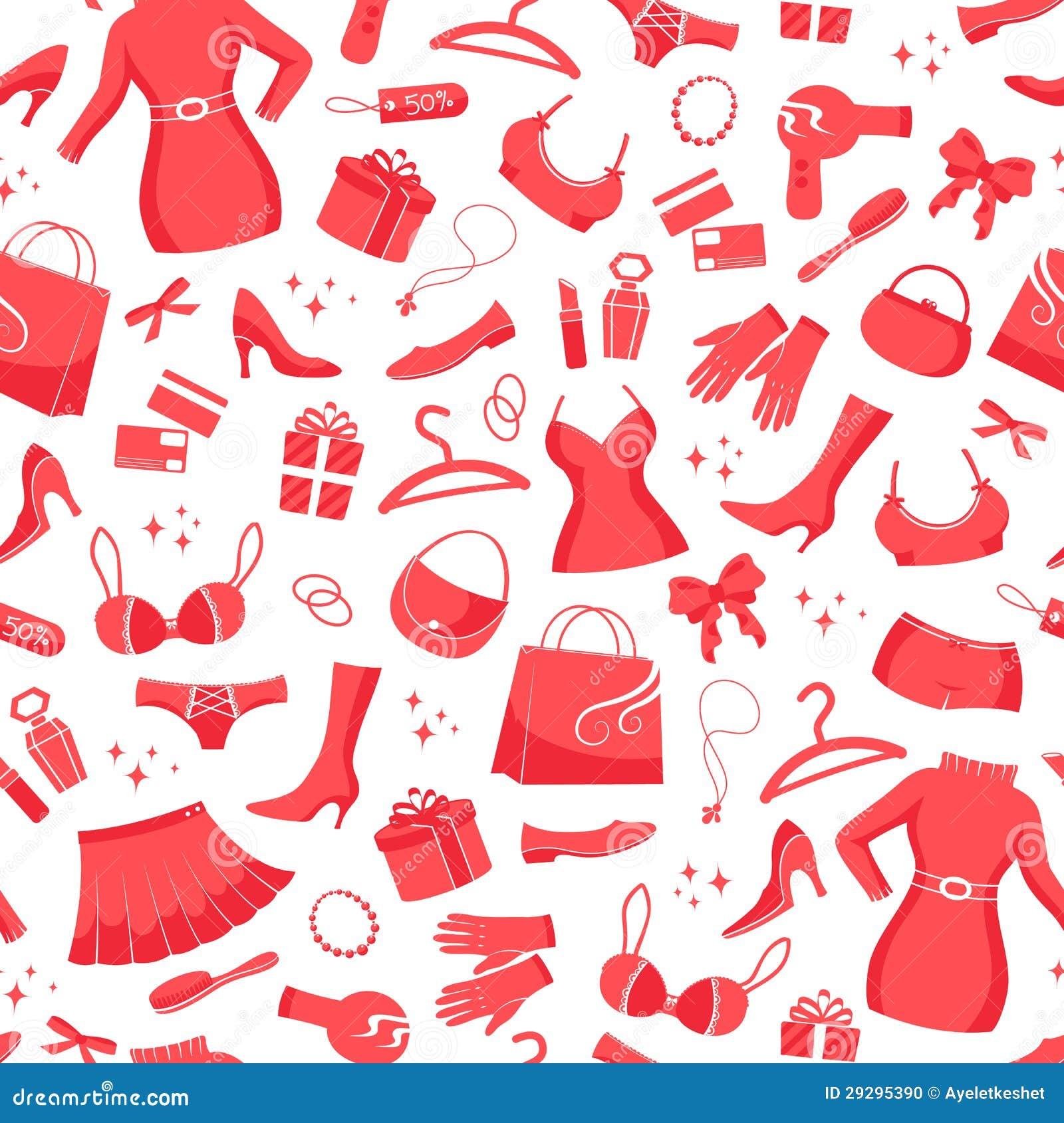 Fashion Pattern Stock Vector Illustration Of Modern 29295390
