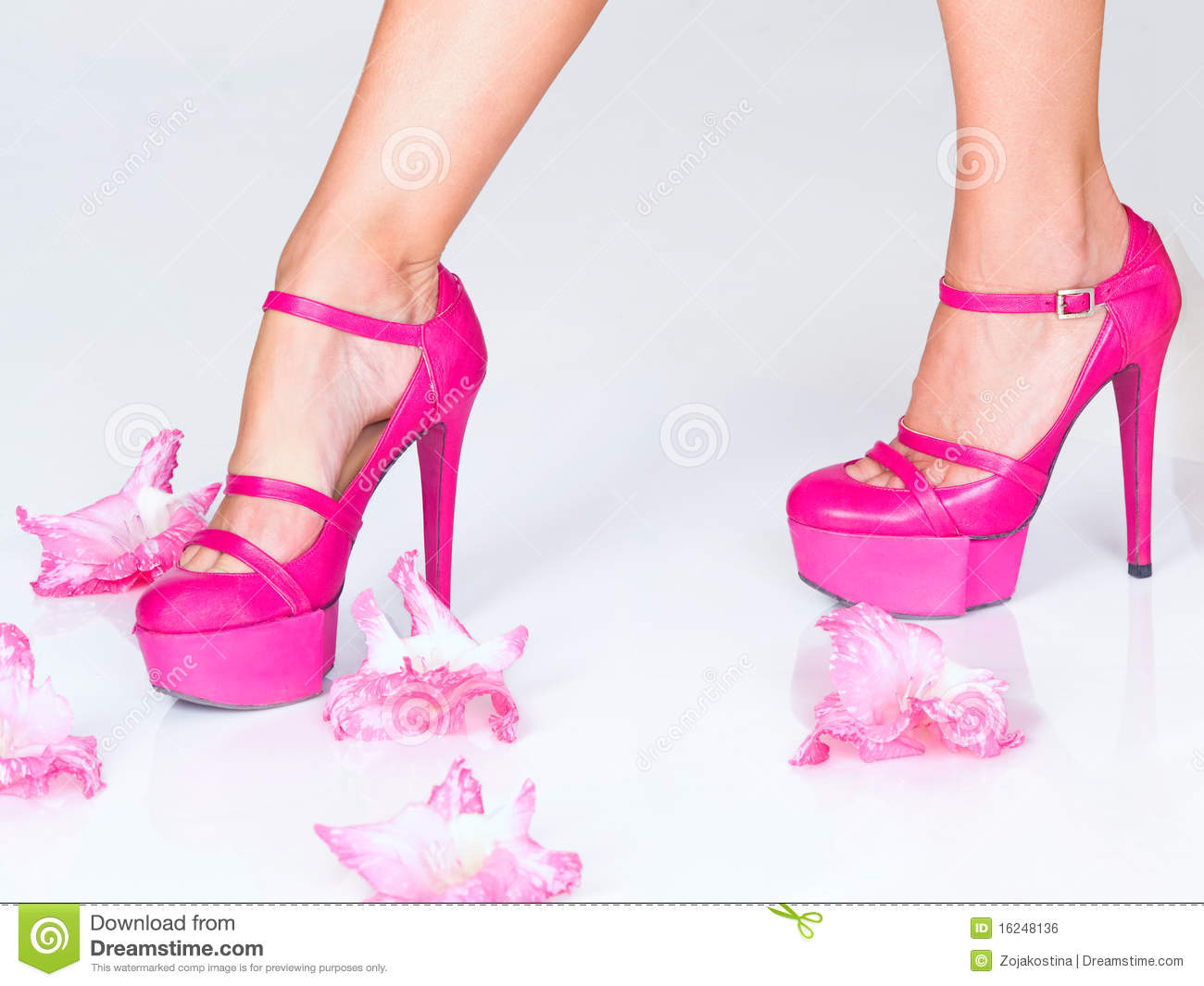 Pink High Heels Images